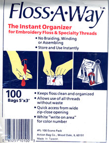 Floss A-Way Bags 100 Pack